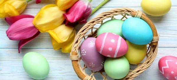 Техники за боядисване на великденски яйца с натурални съставки